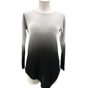 Two by Vince Camuto Ombre Sweater Sz XS Gray